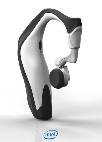 Intel Smart Headset Intel unveils series of wearable devices, including a smartwatch and fitness tracking earbuds