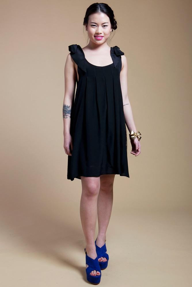 Black Dress Multiple Style 112
