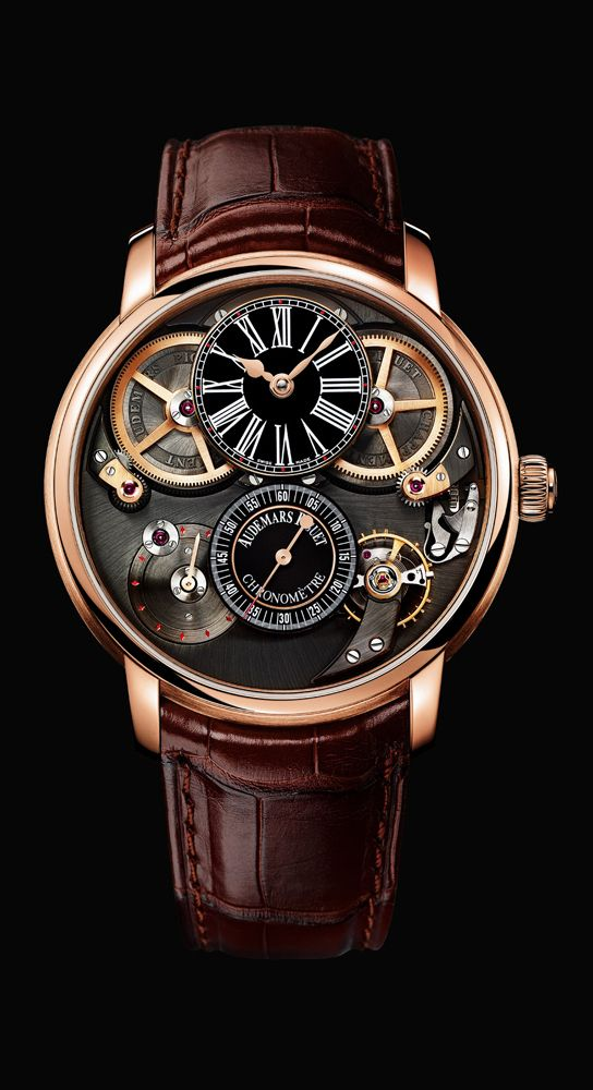 Jules Audemars chronap, #Audemars Piguet #watch.