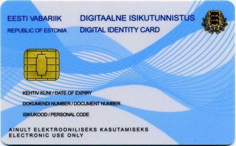 e-Resident id-card