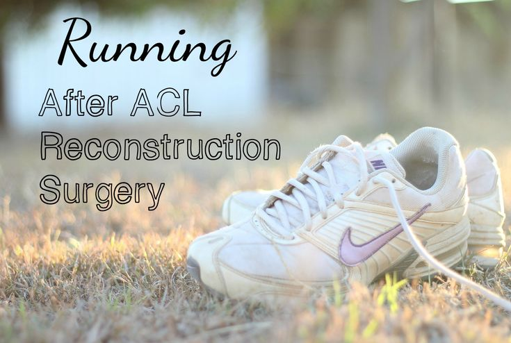 I describe my first few weeks of running after ACL reconstruction surgery without a brace.