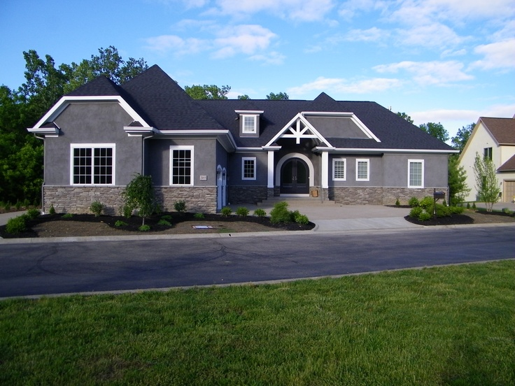 53 best the scioto pointe by castlestone homes ohio for Ranch home builders ohio