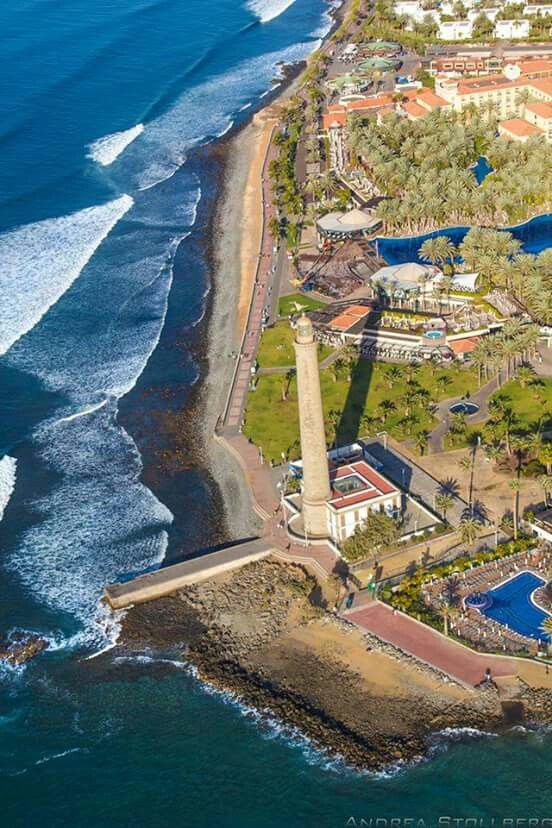 Faro de MASPALOMAS y MELONERAS