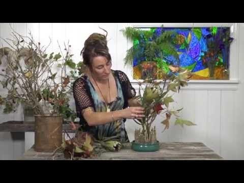 Episode five – Oasis Stick Garden Arrangement | Everything Flowers