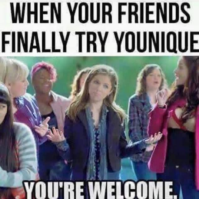 So true. Everyone needs to try Younique products.  www.youniqueproducts.com/RebeccaGurr