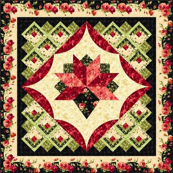Nosegay Quilt Pattern Quilts Flower Quilts Quilt Patterns