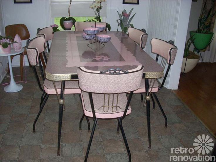 Retro Kitchen Sets 102 best retro dining sets images on pinterest | retro kitchens