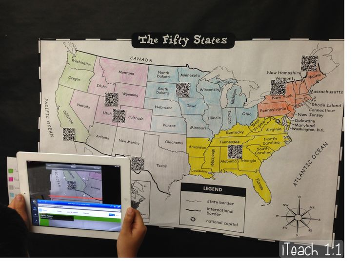 Best Geography Bulletin Board Ideas On Pinterest Geography - Classroom size map of us