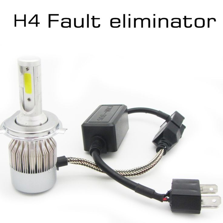 11.19$  Buy here - http://alil3w.shopchina.info/go.php?t=32800726316 - CANBUS Wiring Harness Adapter Headlamps Warning Canceller Automotive LED Light Canbus Fault Eliminator for H4/H7 Car Headlight  #buyonlinewebsite
