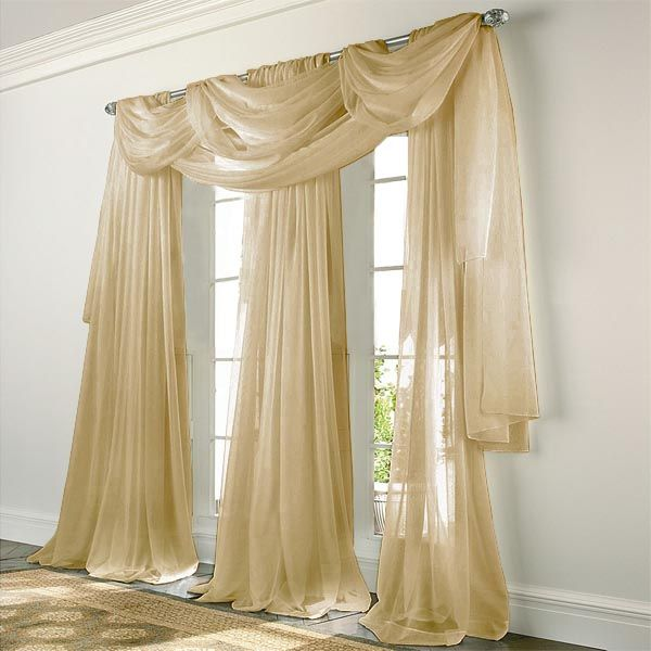 1000 images about elegance voile sheers in black white - Black and gold living room curtains ...