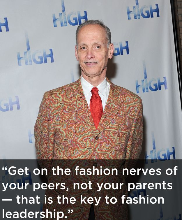 John Waters On fashion.