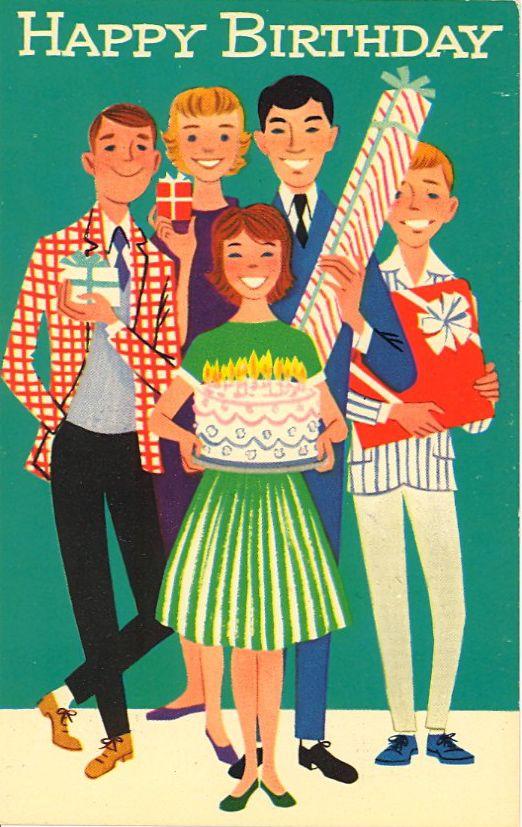 BAD POSTCARDS - HAPPY BIRTHDAY TO ME!