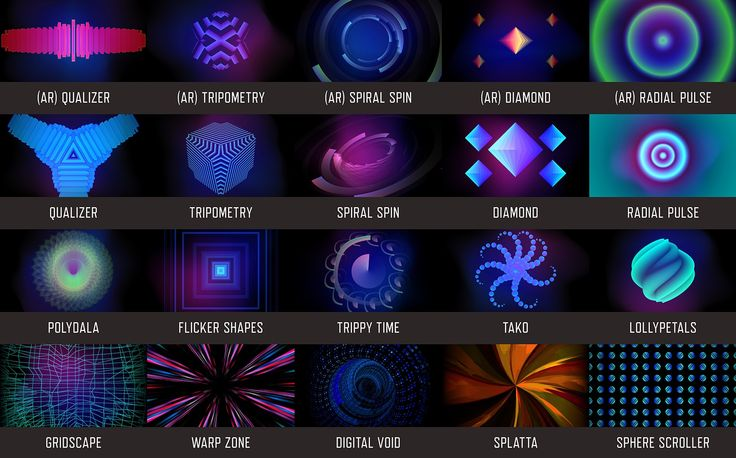 Resgen is a set of 60 realtime generative visuals for Resolume Arena & Avenue 4. Every clip was created using Resolume's built-in sources and effects. | DocOptic.com