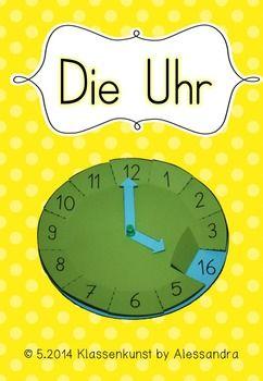 Mit+dieser+Bastelvorlage+Uhr+kann+sowohl+die+Uhrzeit,+als+auch+24-Rhythmus+geübt+werden. Mit+Zeiten+und+als+Blanko-Vorlage. Viel+Spass+dabei!