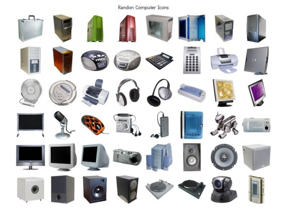 These are great icons if you ever need to use computers in your designs #icon #set #free