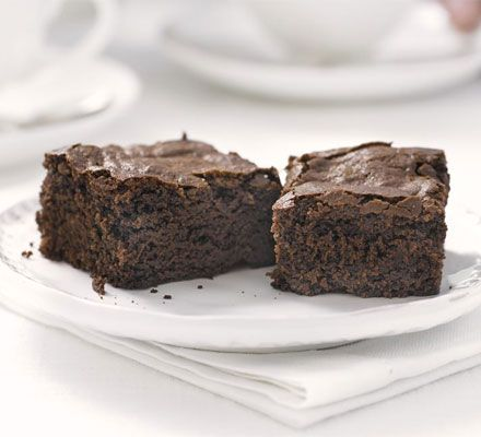 Choc brownies with mayonnaise in the recipe? I thought odd, but they were great. Low-fat mayo is just fine.