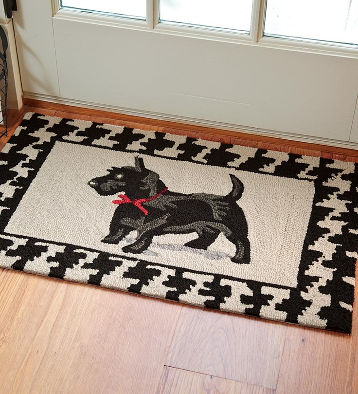 Dog Hooked Rugs: 4018 Best Images About Rug Inspiration On Pinterest