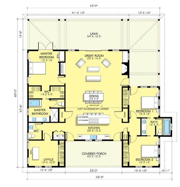 Plantas de casas de campo 5 lindos modelos para construir - Construir casa de campo ...