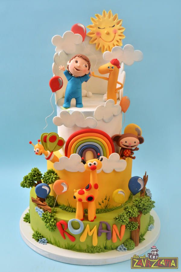 Baby TV Cake by Nasa Mala Zavrzlama