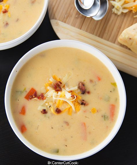 Spicy Wisconsin Cheese Soup