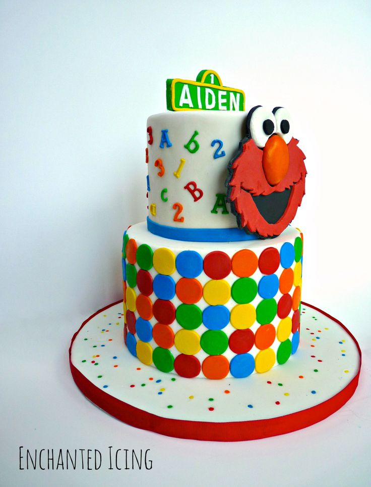 Elmo Design Birthday Cake : 46 best images about elmo cake on Pinterest Birthday ...