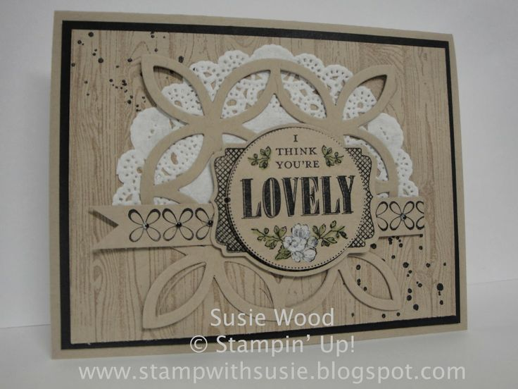 17 best images about stampin up woodgrain on pinterest