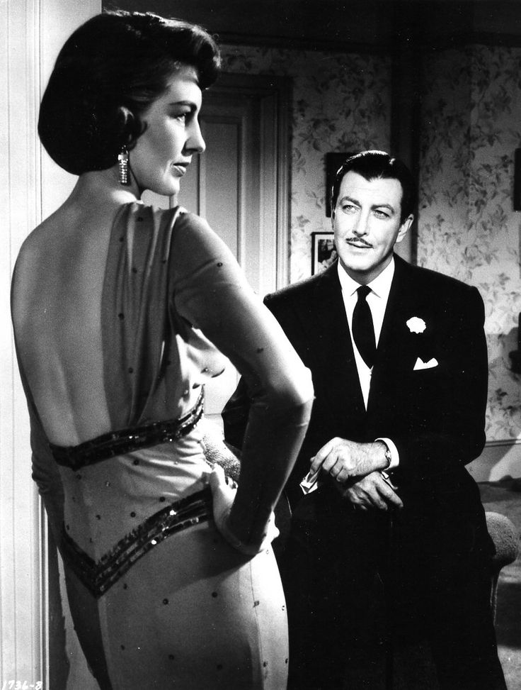Cyd Charisse and Robert Taylor in Party Girl (Nicholas Ray, 1958)