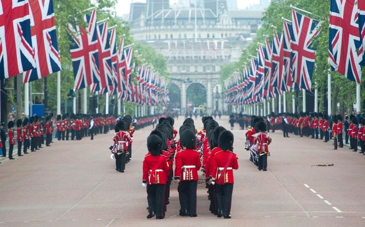 """""""Trooping The Colour"""" Attended by members of The Royal Family"""