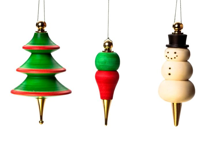 """Combine our Christmas ornaments with your woodturned body to make a truly uniqueChristmas ornamentthat will be treasured for years to come. This project can be turned on a standard pen mandrel, with standard woodturning tools. Preparing the Blank Drill a7mmhole through a 2″ x 2″ x 2"""" blank. Glue the long brass tube into the"""