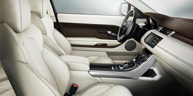 Range Rover Evoque Interior in Prestige Ambience Ivory/Espresso