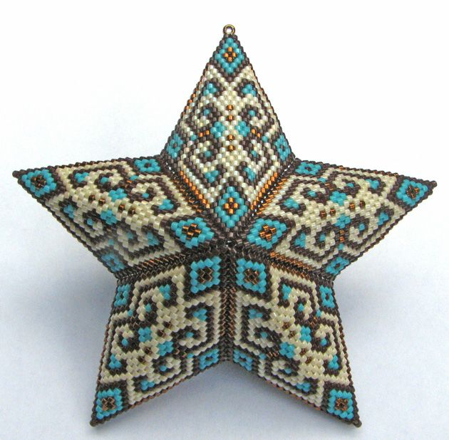 Modified ellad2's (Ella Des)Two-sided Triangle to make this star.