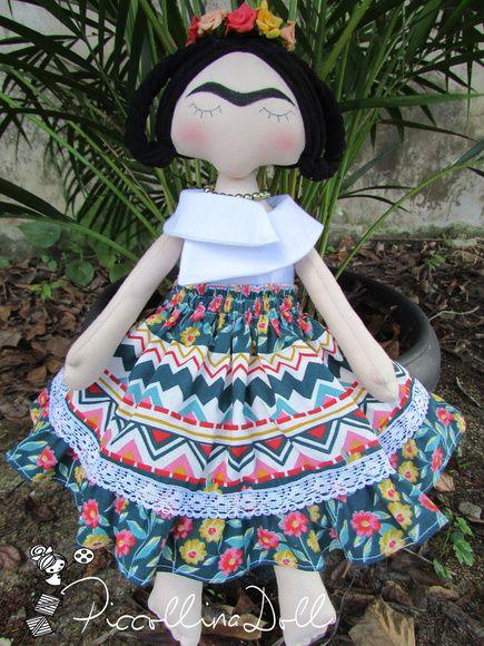 Boneca Frida Kahlo                                                                                                                                                                                 Mais