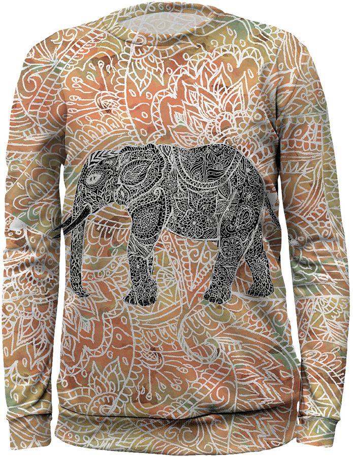 Mr. Gugu & Miss Go Elephant Print Sweater - Size 10-12y