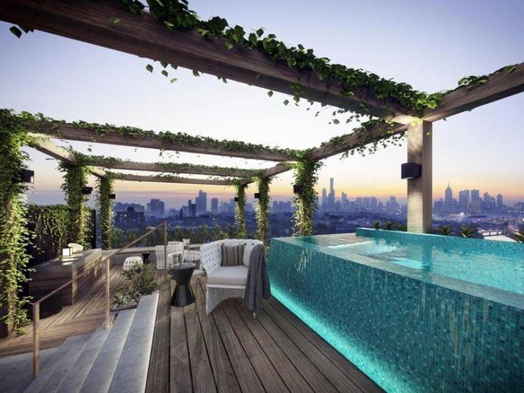 Best 25 Rooftop Pool Ideas On Pinterest