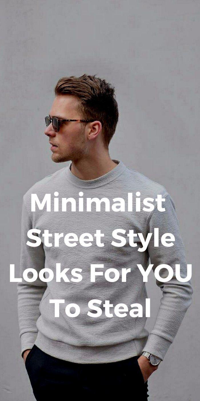 minimalist street style looks for men