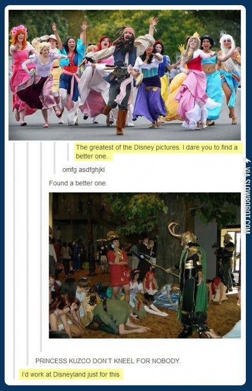 Disney and Cosplay, a beautiful mix