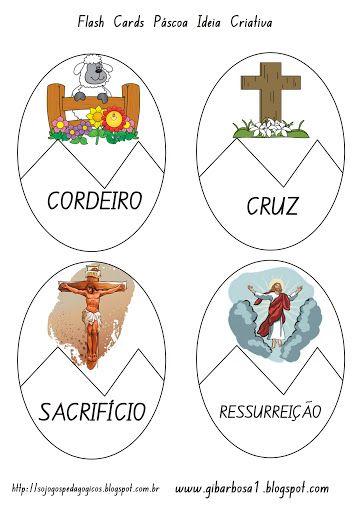 Jogo de Montar Símbolos Páscoa Cristã