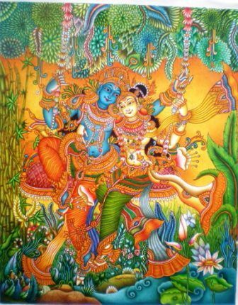 1000 images about kerala mural paintings on pinterest for 3d mural art in india