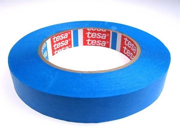 Tesakrepp Spezial Blau Abdeckband 19mm breit, 50m