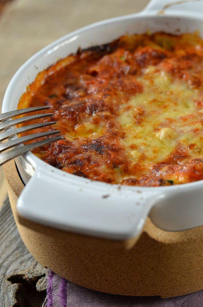 Lasagnes ricotta, courgette et coulis tomate {recette végétarienne facile à faire à la maison}