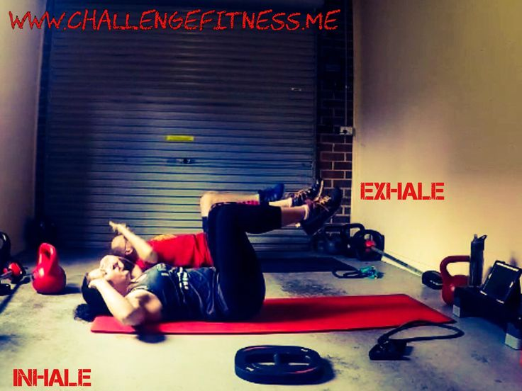 Inhale..........exhale