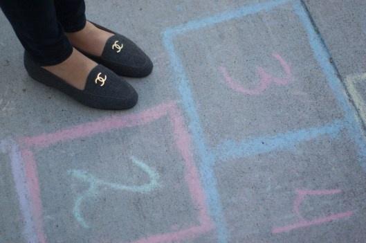 Chanel Loafer & HopScotch