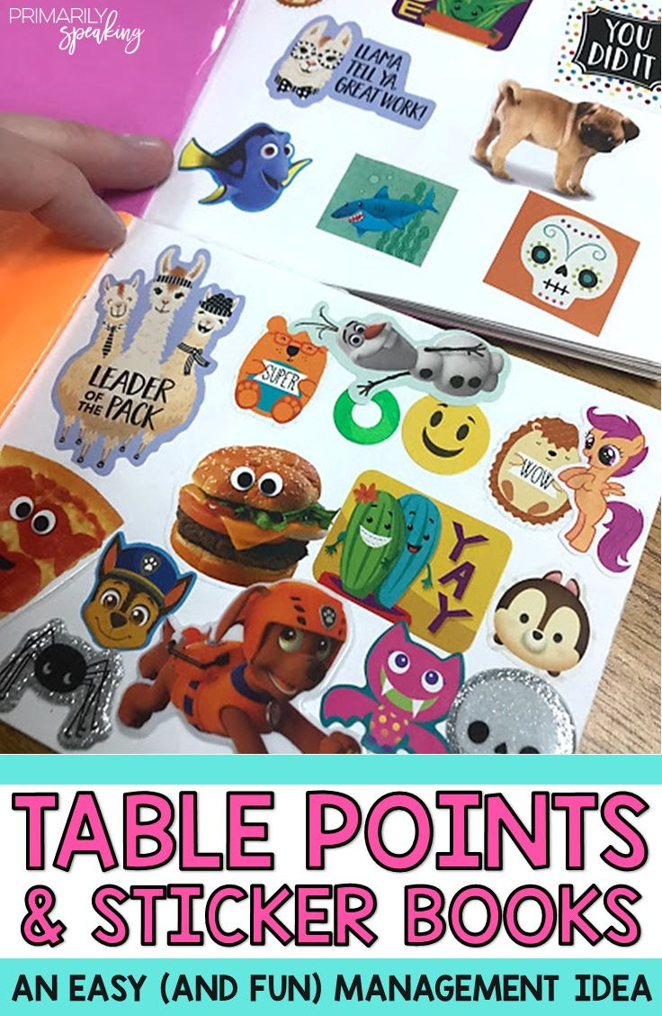 Looking to change up your classroom management a bit? Using table points and stickers to reward students in small groups is a great way to motivate your students. It's easy to implement this system, and students love earning their points (and stickers)!