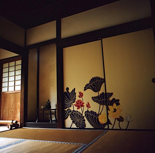 日本家屋、和室、麩