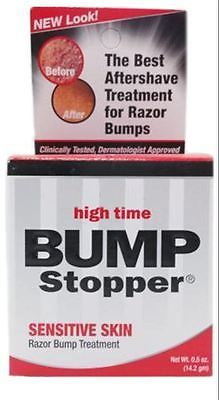 Other Shaving and Hair Removal: High Time Bump Stopper Sensitive Skin Razor Bump Treatment, 0.5 Oz (Pack Of 9) BUY IT NOW ONLY: $30.33