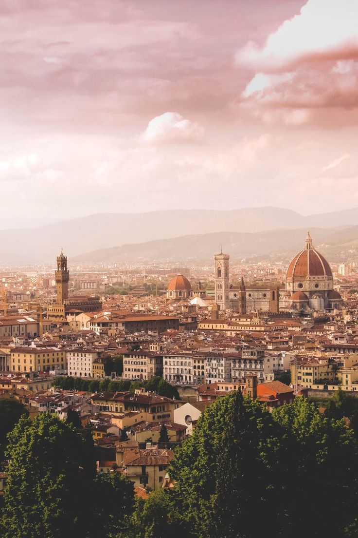 Florence, Italy. Everyone must go to the city of the Renaissance at least once in their life.
