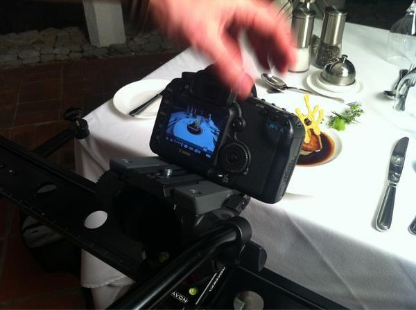 Food filming in Barbados