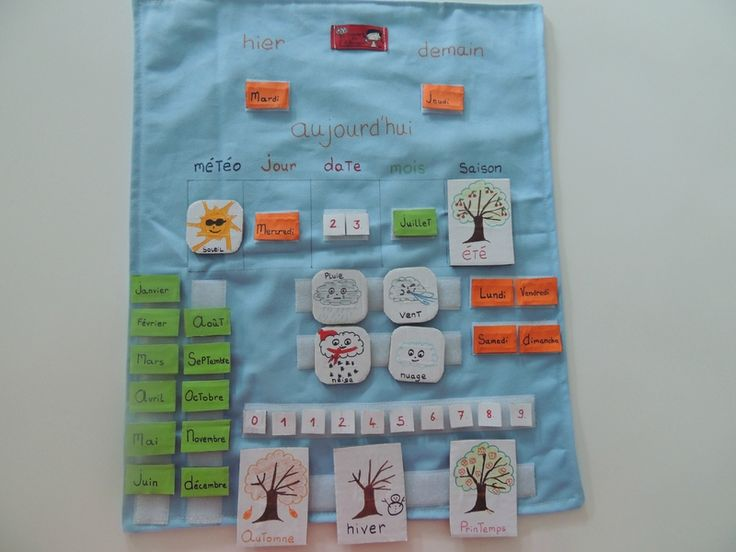 Faire un calendrier perpétuel pour enfant