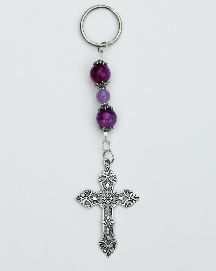 Beaded Key Chain from At Bear Hollow