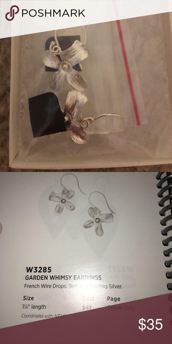 Silpada designs garden whimsy earrings Silpada designs garden whimsy earrings. Sterling silver and pearl. New in box Silpada Jewelry Earrings